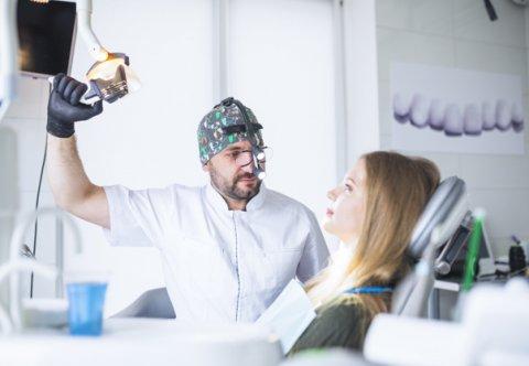 Praca w powiększeniu - lupa stomatologiczna - NOWOŚĆ !!!